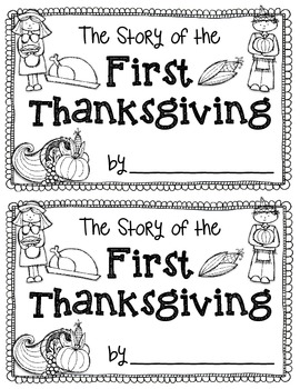 The Story of the First Thanksgiving {Story Bracelet and Poem} {Retell Mini-Book}