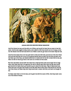 The Story of the Garden of Eden for Kids