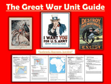 WORLD WAR 1 Lessons Bundle + Mega PPT (Imperialism included)