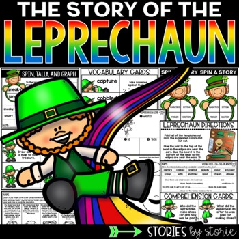 The Story of the Leprechaun (Book Questions, Vocabulary, & Craft)