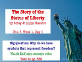 The Story of the Statue of Liberty PowerPoint Reading Stre