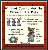 The Three Little Pigs Writing Journal