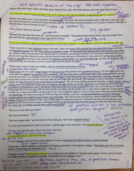 The Storyteller Annotated