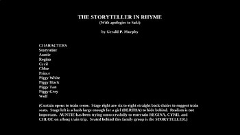 The Storyteller PowerPoint
