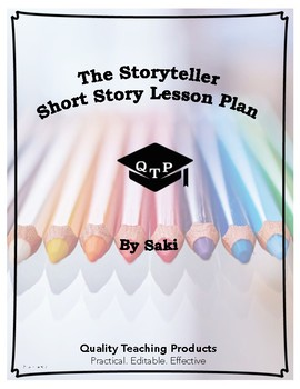 Lesson: The Storyteller by Saki Lesson Plan, Worksheets, Key, Powerpoints