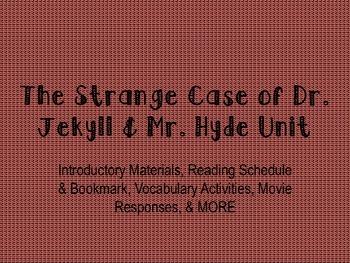 The Strange Case of Dr. Jekyll & Mr. Hyde Unit