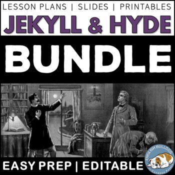 The Strange Case of Dr. Jekyll and Mr. Hyde Activity Bundle