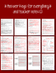 THE STRANGE CASE OF DR. JEKYLL AND MR. HYDE NOVEL LITERATURE GUIDE FLIP BOOK