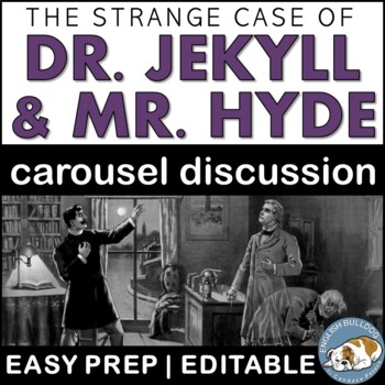 The Strange Case of Dr. Jekyll and Mr. Hyde Pre-reading Carousel Discussion