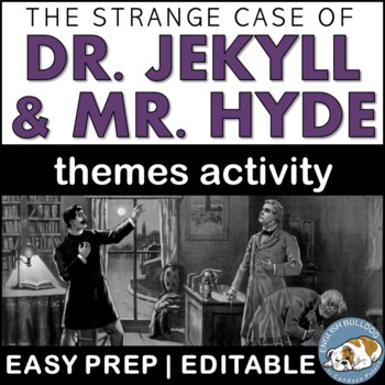 The Strange Case of Dr. Jekyll and Mr. Hyde Themes Textual Analysis Activity