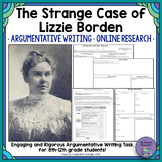 The Strange Case of Lizzie Borden Authentic Writing Task
