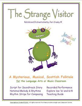 The Strange Visitor - Scottish Folktale - Sountrack Story for Music or ELA