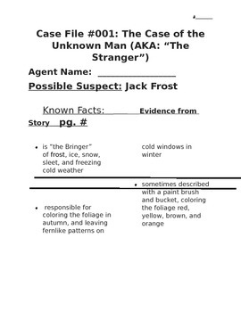 The Stranger Case File