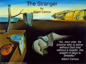 Literature - The Stranger PowerPoint