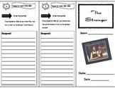 The Stranger Storytown Comprehension Trifold