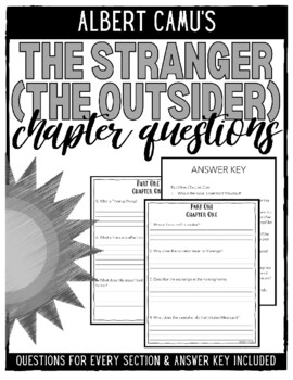 The Stranger (The Outsider) Chapter Questions