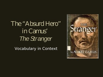 The Stranger Vocabulary in Context
