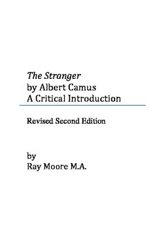 """""""The Stranger"""" by Albert Camus: A Critical Introduction"""