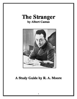 """""""The Stranger"""" by Albert Camus: A Study Guide"""