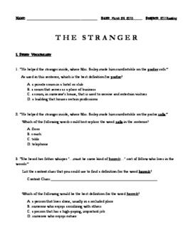 The Stranger by Chris Van Allsburg