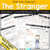 The Stranger by Chris Van Allsburg Distance Learning and Google Classroom