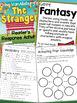 The Stranger: Chris VanAllsburg - Reader's Response Activities