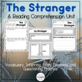 Winter Reading Comprehension - The Stranger by Chris Van Allsburg Inferences