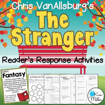 The Stranger: Reader's Response Activities