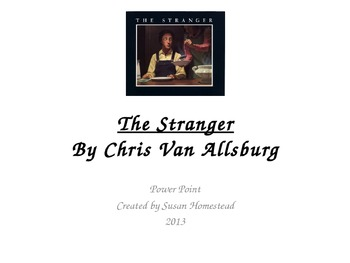 The Stranger by Chris Van Allsburg Vocabulary  Pres.- Houghton Mifflin Grade 4