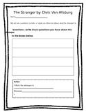 The Stranger response sheet