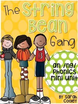 The String Bean Gang:  /ng/ phonics mini unit
