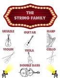 The String Family Marquee Poster