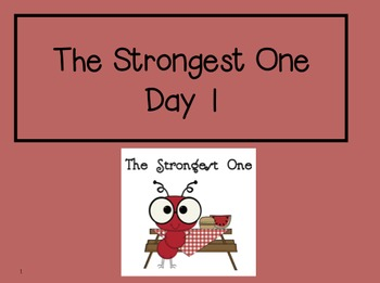 The Strongest One 2nd Grade Reading Street Powerpoints