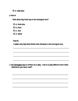 The Strongest One - PARCC-style assessment