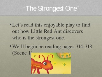 The Strongest One - Treasures Reading - Summarizing & Story Elements