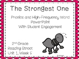 Strongest One , Phonics and High-Frequency PowerPoint with Student Engagement