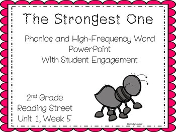 The Strongest One, Unit 1, Week 5, 2nd Grade, Reading Stre