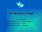 The Structure of Plays Power point