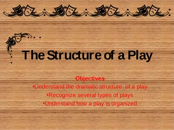 The Structure of a Play
