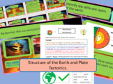 The Structure of the Earth. Complete Lesson and Supporting Materials