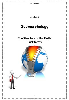 The Structure of the Earth - Rock Forms