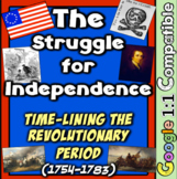 Road to the Revolution: American Revolution Time-lining the Revolutionary Era!