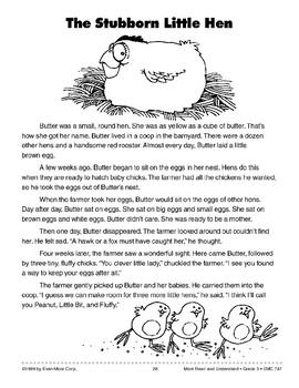 The Stubborn Little Hen