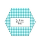 The Student Information Binder