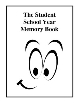 The Student School Year Memory Book