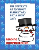 The Students at Richmond School Get a Snow Day