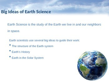 The Study of Earth Science