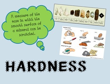 The Study of Rocks, Minerals, and Gems Key Vocabulary Posters