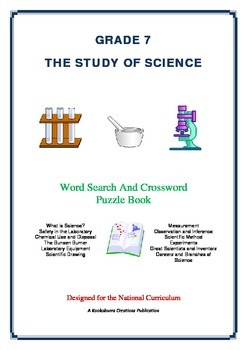 The Study of Science - 51 Pages - Wordsearch and Crossword Puzzle Book (AC Ed)