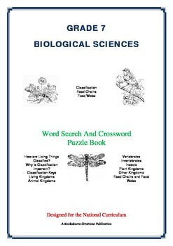 Biological Sciences - 47 Pages - Wordsearch and Crossword Puzzle Book (AC Ed)